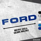 Clearance Home Decor Online Ford Tractor Text Sticker / Decal - Multiple Sizes & Colours - Window - Tractor Red Coral Home Decor