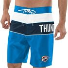 Oklahoma City Thunder G-III Sports by Carl Banks All-Star Striped Swim Trunks - on eBay