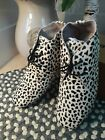 MARUTI Pony Skin Speckle Pattern Shoes