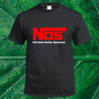 Kyпить New NOS Nitrous Oxide Systems Red Logo Men's Black T-Shirt Size S to XL на еВаy.соm