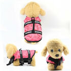 Pet Dog Life Jacket Safety Clothes Life Vest Collar Harness Swimming Preserver