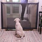 Pet Dog Safety Gate Stair Foldable Net Mesh Fence Safe Guard Baby Enclosure