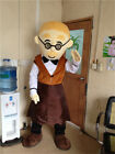 Oven Break Mascot Xmas Gingerbread Man Costume Tailor Suit Outfit Cosplay Unisex