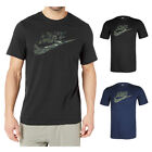 Nike Men's Short Sleeve Camouflage Logo Graphic Athletic Cut T-Shirt image