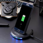 US Foldable Qi Wireless Charger Fast Charging Stand Dock Pad For iPhone X XS XR