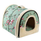 Dog House Kennel Nest With Mat Foldable Bed House For Small Medium size Dogs