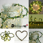Ivy Leaves Led String Lights Battery/usb Operated Lamp Christmas Xmas Home Decor