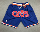 Men's NWT Pants Cleveland Cavaliers Basketball Shorts NBA Blue on eBay