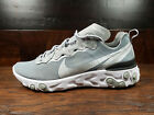 Nike React Element 55 (Metallic Silver / White) [BQ6166-007] NSW Mens 8-12 $129.99 USD on eBay
