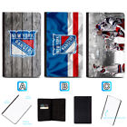 New York Rangers Leather Passport Holder Cover Case Travel Wallet $4.99 USD on eBay
