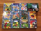 Original nintendo gameboy games with instructions & in boxes.