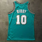 Mike Bibby #10 Vancouver Grizzlies Throwback Vintage Basketball Jersey / Shorts