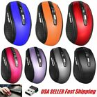2 4ghz wireless optical mouse mice usb receiver for pc laptop computer