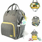 3IVEWELL BEST MOMMY BABY DIAPER BAG LARGE CAPACITY UNISEX BACKPACK NAPPY TOTE