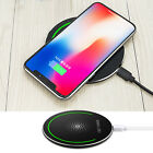 Qi Wireless Charging Pad Charger for Samsung Galaxy S8+ S8 S7 S6 Edge