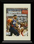 Framed LeBron James SI Autograph Replica Print - Cleveland Cavaliers on eBay