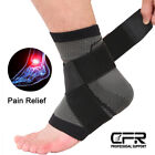 Sports Ankle Support Ultra-thin Elastic Adjustable Brace Sleeve Pain Relief Wrap $7.99 USD on eBay