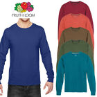 Fruit of the Loom Men's Long Sleeve Crew Neck T-Shirt image