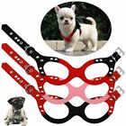 Walking Cat Kitten Chest Vest Collar Suede Leather Glasses Shape Pet Hanress
