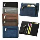 Fashion Wallet Magic Credit Card Holder Coin Bag Money Clip Billfold-PU*Leather