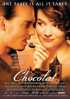 CHOCOLAT 2000 Lasse Hallström, Juliette Binoche – Movie Cinema Poster Art