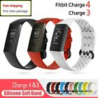 Replacement Bands For Fitbit Charge 3 Silicone Wristband Watch Wrist Sport Strap image