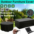 Garden Patio Furniture Cover Waterproof Rectangle Outdoor Table Cover 7 Sizes