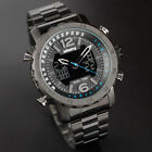 Infantry Men Sport Tactical Military Digital Chronograph Battery Wrist Watch US image