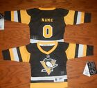 Pittsburgh Penguins Infant NHL Hockey Jersey add any name  number