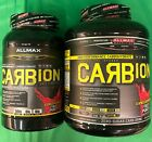 ALLMAX CARBion+ HIGH PERFORMANCE CARBOHYDRATE, 2.46 LBS OR 5.18 LBS FRUIT PUNCH $24.99 USD on eBay