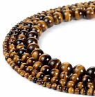 Kyпить Yellow Tiger Eye AAA Gemstone Loose Beads Natural Round 6mm 8mm 10mm Strand 15'' на еВаy.соm