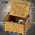 You Are My Sunshine-Wooden Engraved Music Box Gift for Mom/Dad To Daughter/Son