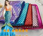 1 Meters 150cm width Fishscale Lazer reflective Fabric for craft Dress making