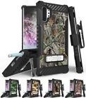 Rugged Tri-Shield Case + Belt Clip for Samsung Galaxy Note 10 Plus - Camo Series