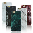 Granite Marble Effect Phone Case Cover for Apples iPhone 5 5S 6 SE 6S 7 Plus
