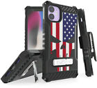 Rugged Tri-Shield Case + Belt Clip for Apple iPhone 11 - Patriotic Series