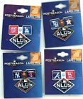 2019 MLB NLDS ALDS Division Series Pin Choice Astros Rays Yankees Braves Dodgers on Ebay