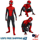 Spider-Man Far From Home Kids Boys Spiderman Zentai Cosplay Costume Tights Suit
