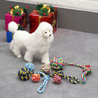 Training Play Braided Cotton Node Puppy Chew  Pet Teeth Ball Dog Rope Toy