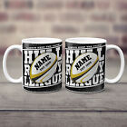 Rugby League Mug Retro Cup Dad Christmas Gift Personalised - ALL TEAMS