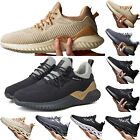 Mens Casual Sports Sneakers Lace Up  Running Hiking Gym Trainers Athletic Shoes