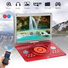 16 portable dvd player hd cd tv player 16 9 lcd swivel screen rechargeable us