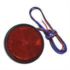 24SMD Motorcycle Truck Car Round Tail Stop Lights Turn Singal Light Reflecto TPI