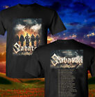 Sabaton The Great War Tour 2019 with dates Men's Black T-Shirt Size S-XXL 1 image