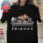 Friends Harry Potter Funny Halloween Gift T-Shirt for Men Women Kids