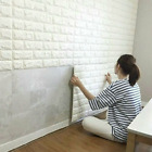 10/20 3d Effect Tile Brick Wall Sticker Self-adhesive Waterproof Wallpaper Panel