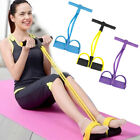 Foot Pedal Pull Rope Resistance Exercise Yoga Fitness Equipment Sit-up Sanwood image