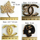 Fashion Women Jewelry Alloy Simulated Pear Crystal Brooch Pin image