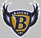 Baltimore Ravens NFL Decal Sticker Choose Size 3M LAMINATED BUY 3 GET 1 FREE $29.95 USD on eBay
