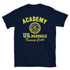 US Marshals T-Shirt 1971 Athletic Department Police Training Center Academy image